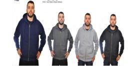 12 of Men's Full Zip Heavy Weight Fleece Black