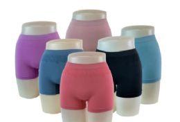 48 of Lady's Seamless Boy Shorts