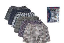 48 of Men Woven Plus Boxer Shorts