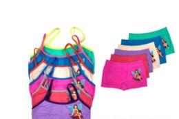 36 of Girl's Seamless Bra And Boxer Set