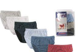 72 of Boy's Striped Cotton Briefs