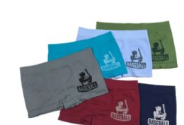 48 of Boy's Seamless Boxers