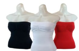 48 of Ladies' Seamless Camisole With Padding