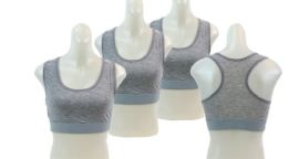 48 of Ladies' Cotton Sports Bra