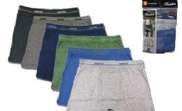 36 of Men's Cotton Boxer Briefs Plus Size