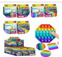 48 of Krazy Popper Bubble 3 Mix Shape Rainbow