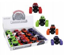 36 of Toy Monster Truck Display