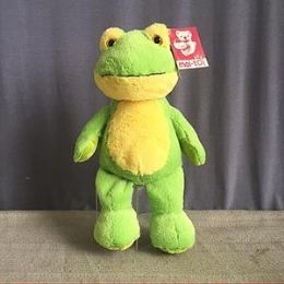 24 of 8.5 Inch Stuffed Frog With Beanie