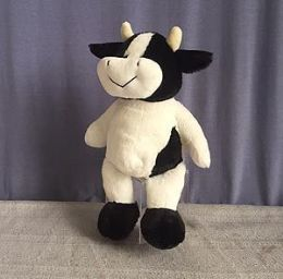 24 of 8.5 Inch Soft Stuffed Cow