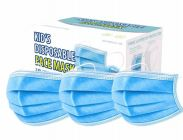 100 of Kids Face Plain Mask 50 Count