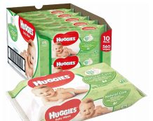 50 of Huggies Wipes 56 Count Natural Care