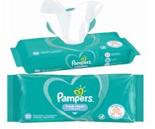 48 of Pampers Wipes 52 Count Fresh Clean