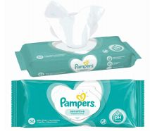 48 of Pampers Wipes 52 Count Sensitive