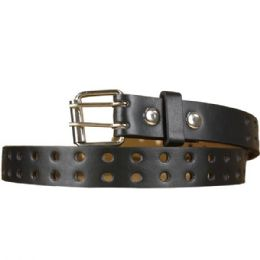 36 of Punched Kid Belt In Brown