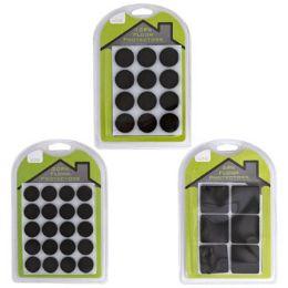 48 of Felt Floor Protectors 6/12/20pk SelF-Adhesive Square/round
