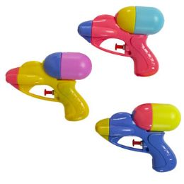 55 of Mini Squirt Gun Plastic Assorted Colors $1.99