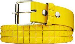 60 of Studded Yellow Belt