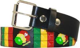 96 of Multicolor Punk Studded Belt