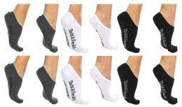 24 of Yacht & Smith Womens Cotton No Show Loafer Socks With Anti Slip Silicone Strip