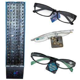 240 of Reading Glasses 9 Asst Powers In 240 Ct Floor Display