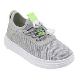 12 of Boy's Sneakers Casual Sports Shoes in Gray