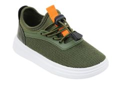 12 of Boy's Sneakers Casual Sports Shoes in Olive