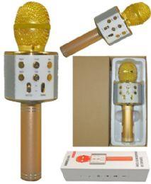 6 of Phone Karaoke Microphone In Gold