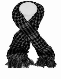 72 of Palestine Scarves In Gray And Black