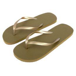 50 of Women's Flip Flops Gold