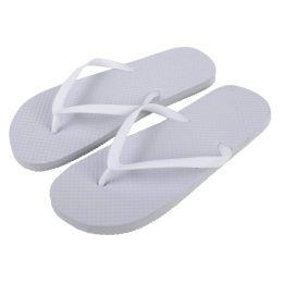 50 of Women's Flip Flops - White