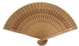 72 of Wood Fan With Flower design