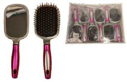 72 of Hair Brush With Mirror At Back
