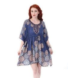 12 of Short Printed with Draw String Kaftan