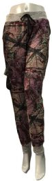 12 of Camo Jogging Pants With Waist Tie Assorted Size