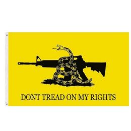 24 of DON'T TREAD ON MY RIGHTS Flag