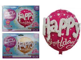 144 of Happy Birthday Foil Balloon Pop-Up