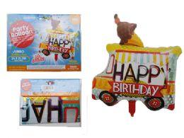 144 of Happy Birthday Truck Foil Balloon
