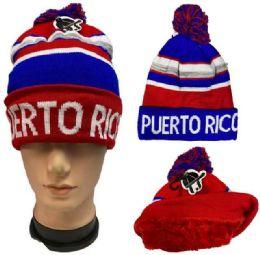 36 of Pompom Winter Hat Puerto Rico Plush Lining