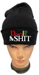 36 of Don't Ask Me 4 Shit Black Winter Hat