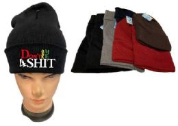 36 of Don't Ask Me 4 Shit Mix Winter hat