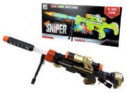 12 of Light Up and Sound Sniper Toy Gun