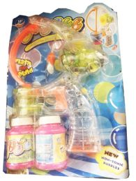 24 of Bubbles Gun Toy With Lights With Sounds