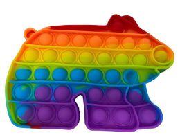 24 of Collar Bear Push Pop Bubble Toys
