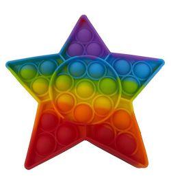 24 of Star Push Pop Bubble Toys
