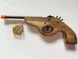 36 of Wooden Gun Shutting Robber band
