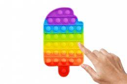 24 of Bubble Pop Toys Popsicle