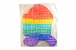 4 of Bubble Pop Toy Jumbo Rainbow Among Us