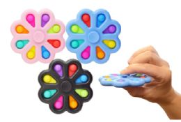 24 of Bubble Pop Toy Spinner Flower