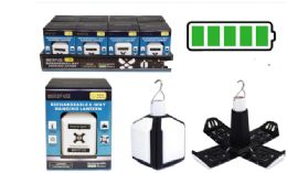 8 of Rechargeable 4 Way Hanging Cob LED Lantern
