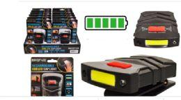 12 of Rechargeable Cob LED Cap Light